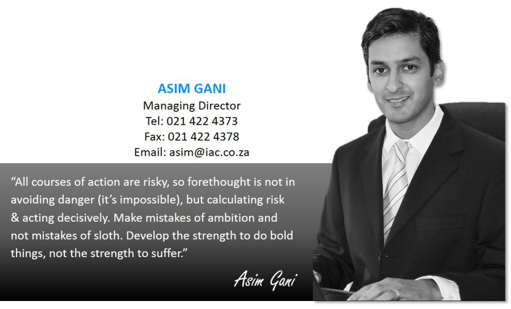 Asim Gani, Managing Director