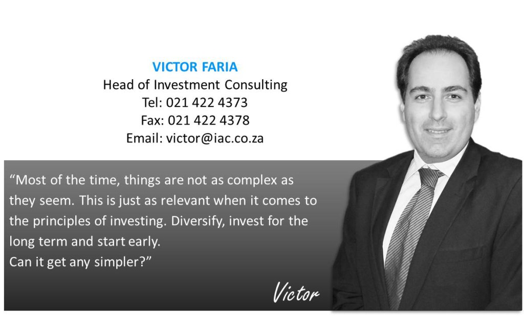 Victor Faria, Head of Investment Consulting